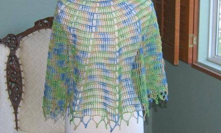 A Funny Thing Happened: Tunisian Shawl Pattern