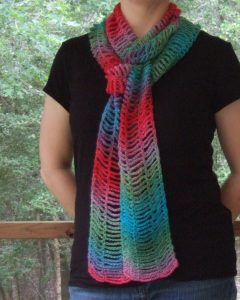 Easy Beauty Chain Scarf