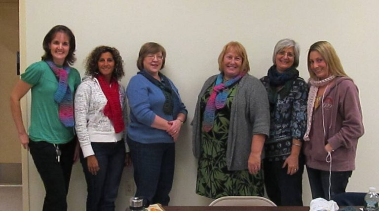 Students - Ladies Night Out Crochet Class