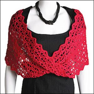 Lace with a Twist--National Crochet Month