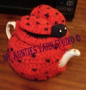 Lady Bug Teapot Cozy
