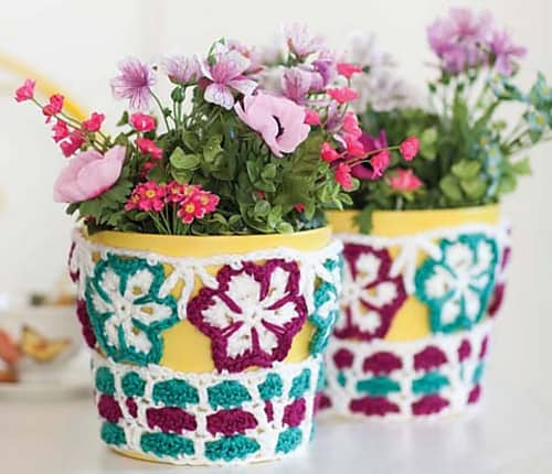 Ring Around the Rosy Cozy--National Crochet Month