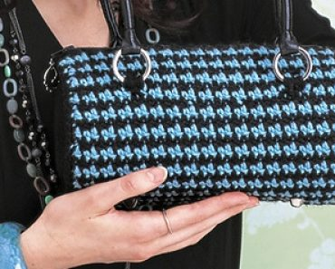 Houndstooth Purse Featured