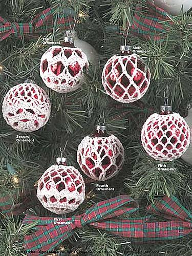 Elegant Ornaments--National Crochet Month