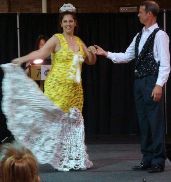 Plarn Dress