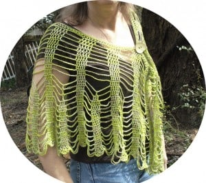 Bamboo Chains Capelet