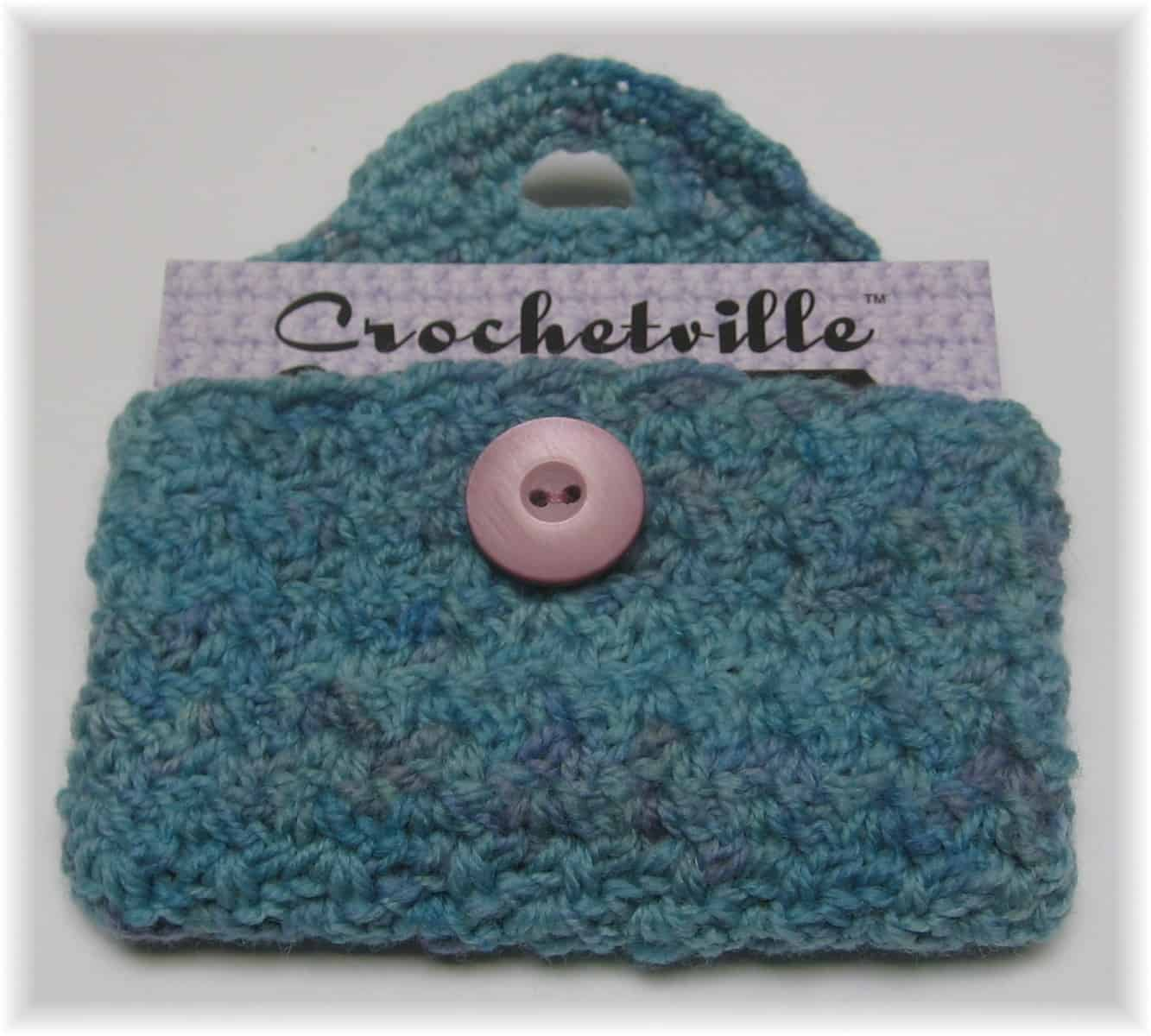Business Card Case Crochet Pattern