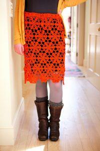 Lacy Skirt by Edie Eckman