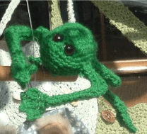 Good Luck, Good Fortune Frog