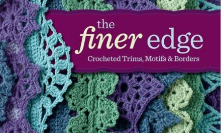 Crochet Book Review: The Finer Edge by Kristin Omdahl
