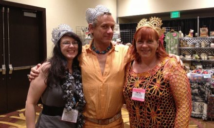 Crochet Crowns and Sparkle with the Glitter Knitter