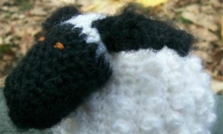 Free Crochet Pattern of the Day: Chubby Sheep