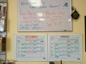The Yarn Haven Class Schedule
