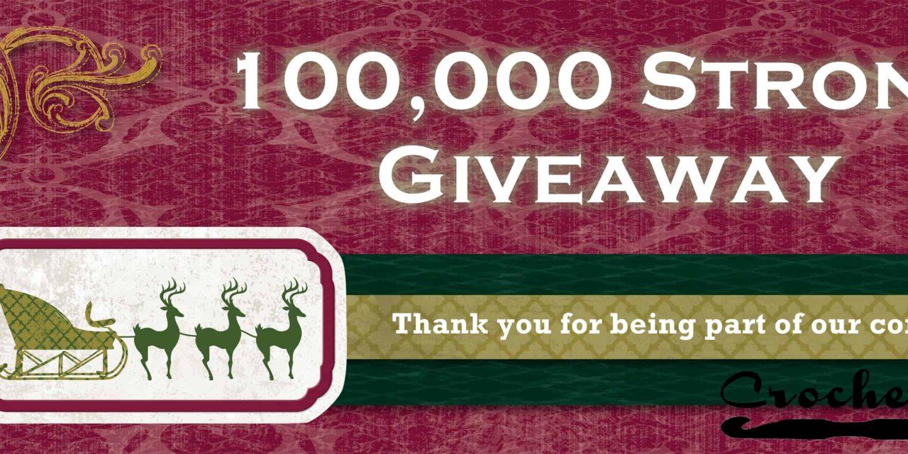 100,000 Facebook Fans: Digital Pattern Giveaway