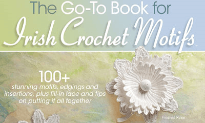 Book Review: The Go-To Book of Irish Crochet Motifs by Kathryn White