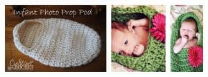 Baby Pod Photo Prop