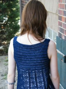 Clarice, back view