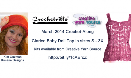 March Crochet-Along: Clarice by Kim Guzman