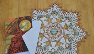 Angels Doily