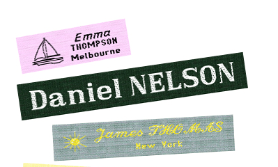 Customized Name Labels for Your Crochet Projects