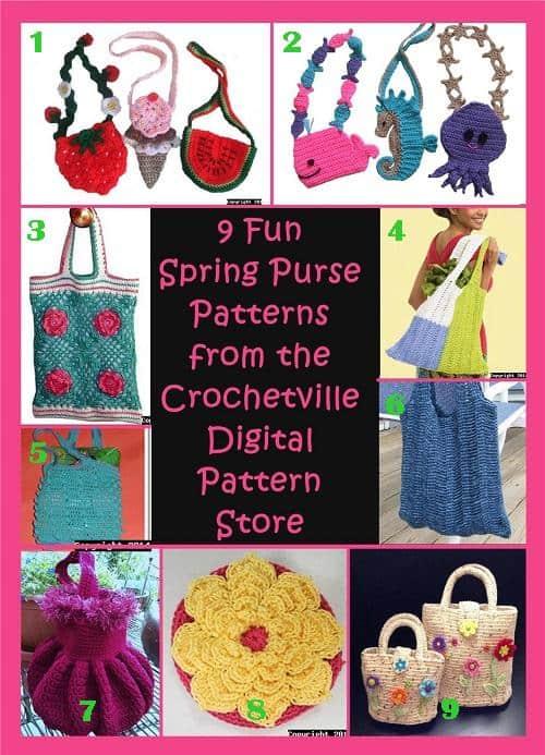 9 Fun Crochet Purse Patterns