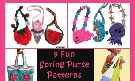 Crochet Pattern Round-Up: 9 Fun Spring Purses and Tote Bags