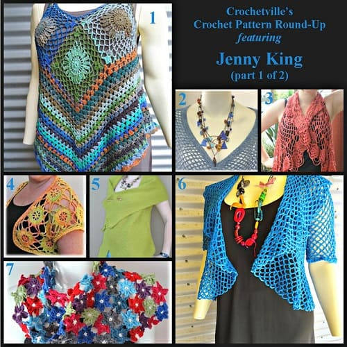 Jenny King Crochet Pattern Round-Up
