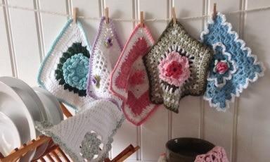 Dishcloth Crochet Pattern Round-Up: Maggie's Crochet