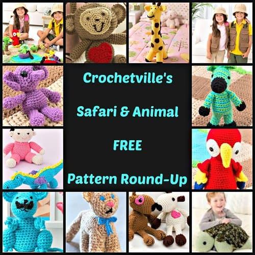 Safari Animal Pattern Roundup_500