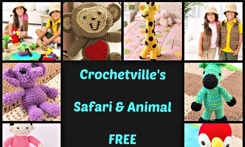 Crochet Pattern Round-Up: 12 Free Safari and Animal Patterns