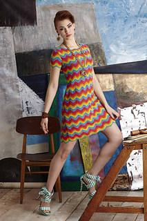Missoni-Inspired Shift Dress