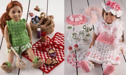 18″ Doll Crochet Pattern Round-Up: Maggie's Crochet