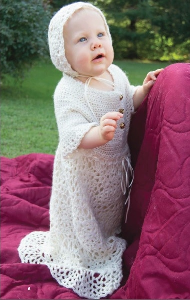 January: Christening Gown