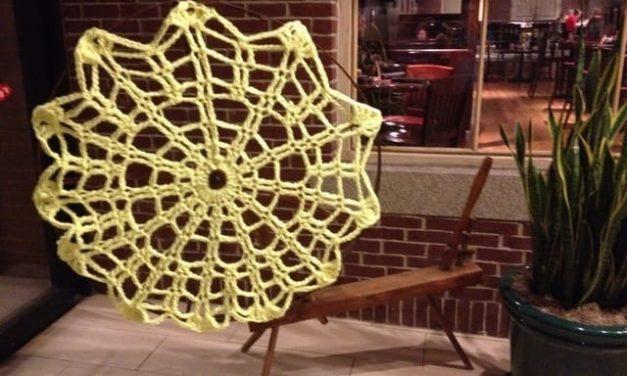 CGOA Conference 2014: Tuesday, Yarn Bombing