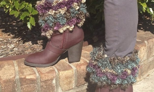 New Free Crochet Pattern Floofy Boot Toppers