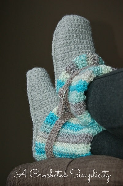 Slouchy Slipper Boots