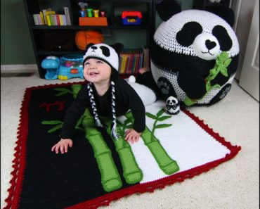 Panda Bean Bag Set | Yarnovations