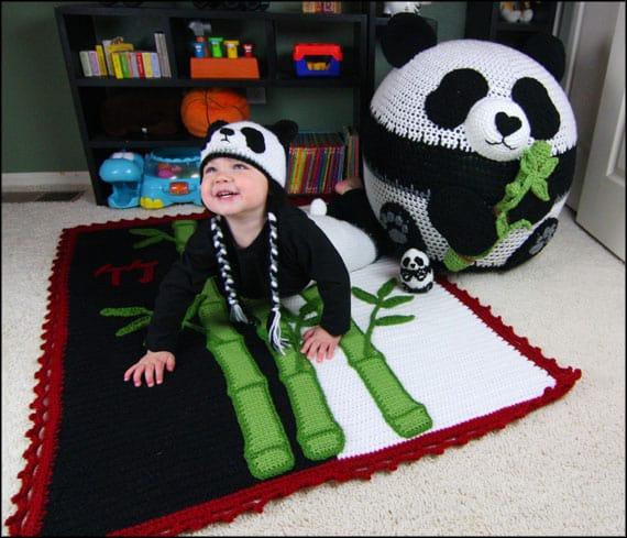 Panda Bean Bag Set | Yarnovations