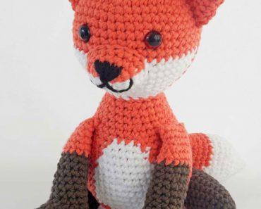 Photo of Fredrick the Fox Amigurumi Crochet Toy