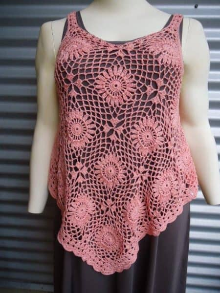 Photo of Michelle crocheted top