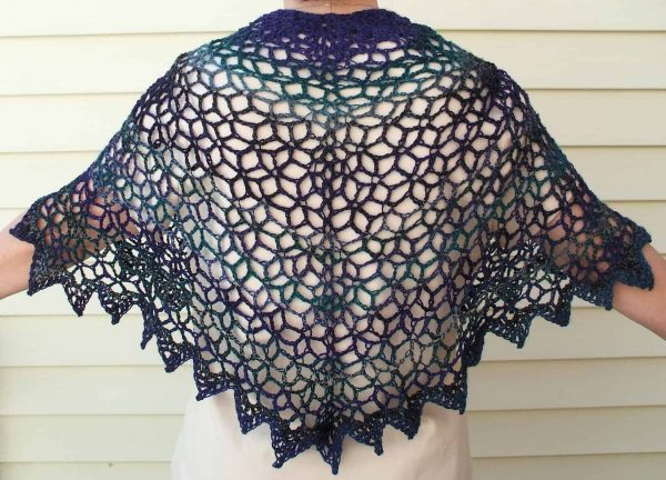 Starry Evening Shawl | Kathy Kelly