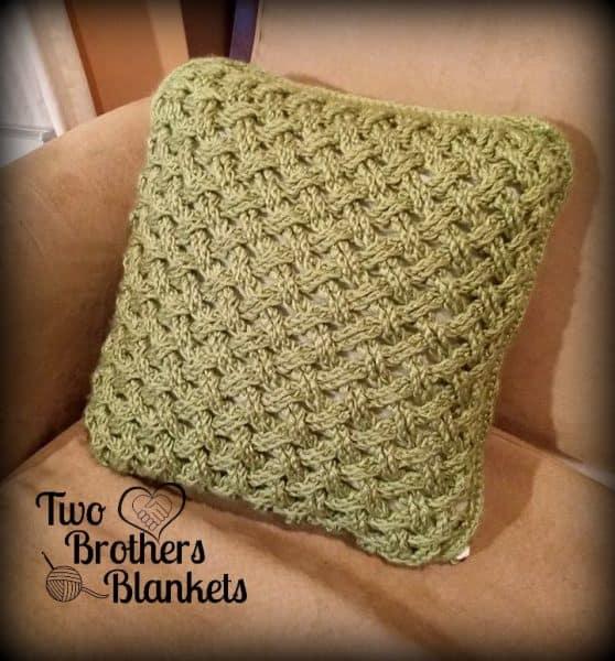 Celtic Weave Pillow Cover | Michelle Ferguson
