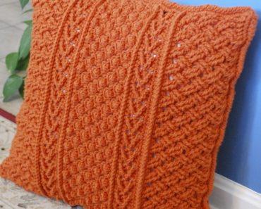 Orange-Aran-Pillow-Bonnie-Barker