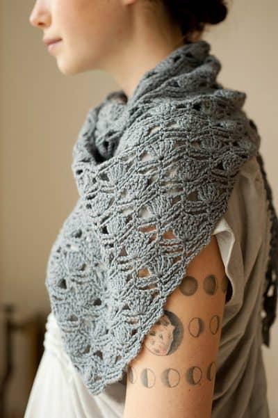 Photo of Haiku Crochet Shawl