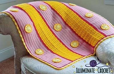 Sara_Leighton_Pink_Lemonade_Baby_Blanket