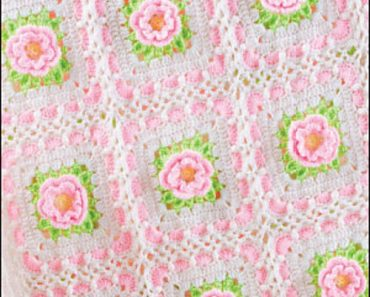 Sweetheart-Rose-Baby-Afghan-Brenda-Stratton
