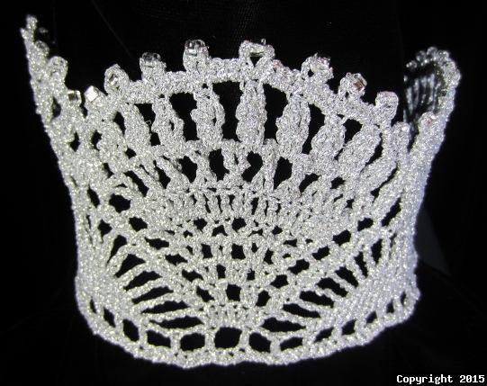Queen for a Day Crown Crochet Pattern