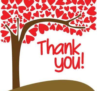 A Big Blog Tour Thank You!