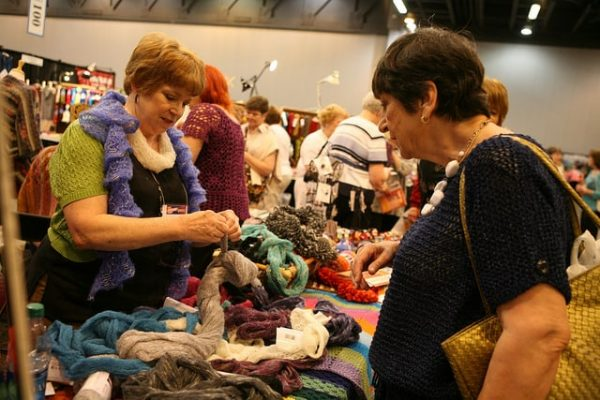 STITCHES | Market Floor | Crochetville Booth