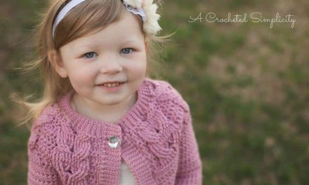 Southern Charm Cabled Cardigan by Jennifer Pionk